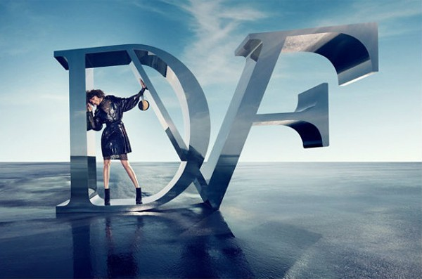 Arizona Muse poses for Diane von Furstenberg's autumn/winter 2012 ads