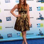 Ashley Greene wears metallic Michael Kors for the Do Something Awards