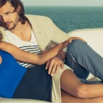 Ashton Kutcher and Alessandra Ambrosio sizzle for new Colcci ads