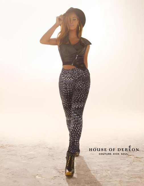 Check out Beyonce's Glastonbury-inspired House of Deréon ads