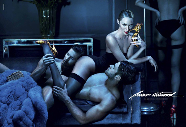 Brian Atwood's new ad campaign is too raunchy for its own store!