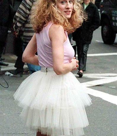 Carrie Bradshaw's iconic Sex and the City tutu only cost $5, nearly didn't get used