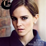Emma Watson pretties up the New York Times Style magazine cover