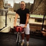 Giles Deacon teams up with Sky Ride for a fashionable cycling collaboration!