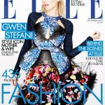 Gwen Stefani wears Peter Pilotto and McQ for Elle UK October