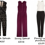 Lust List – 3 Party jumpsuits to suit all budgets