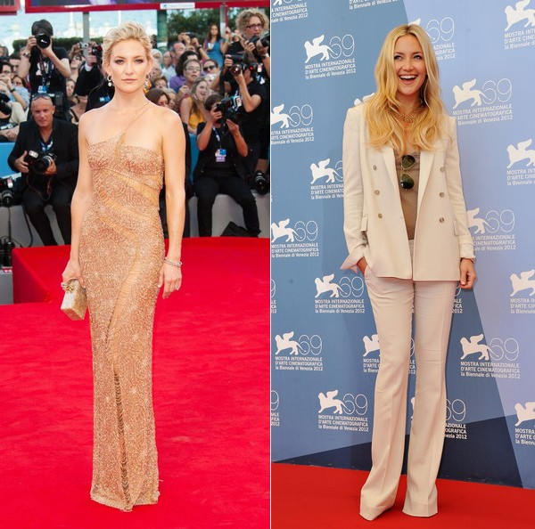 Two very different – but equally wow-worthy – red carpet looks from Kate Hudson!