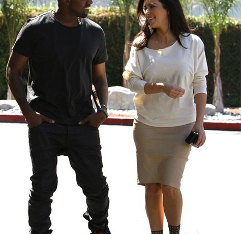 Are Kim Kardashian and Kanye West launching a joint footwear collection?