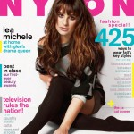 Lea Michele dons sparkly cat ears for Nylon's September cover