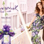 Leighton Meester for Vera Wang's new Lovestruck Floral Rush fragrance