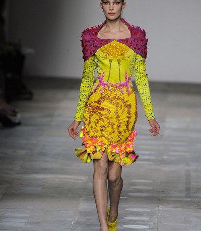 Mary Katrantzou partners with Vodafone