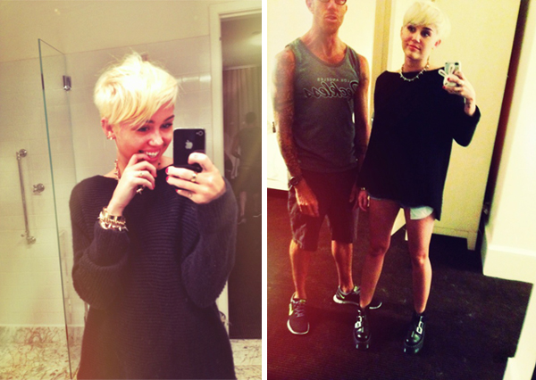Love or Hate: Miley Cyrus's new blonde pixie crop