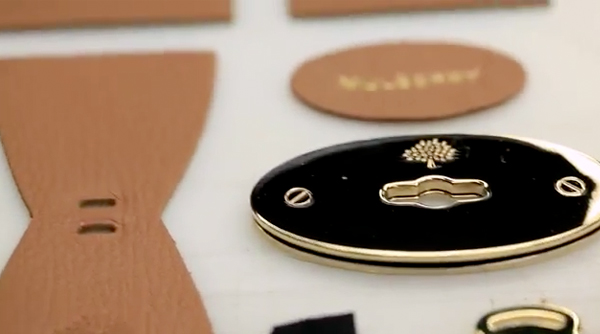 Watch the making of the Mulberry Del Rey