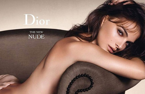 Natalie Portman poses nude for Dior Beauty