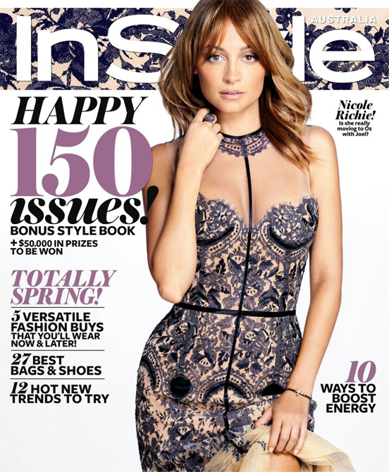 Nicole Richie rocks Thirty Four Disciples for InStyle Australia's September cover