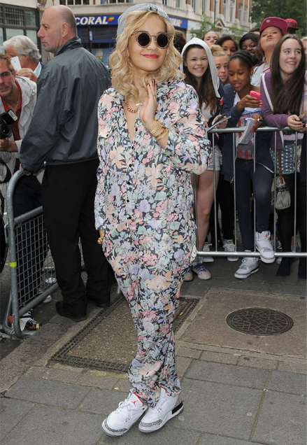 Are you a fan of Rita Ora's floral jumpsuit?