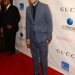 Robert Pattinson is gorgeous in Gucci at Cosmopolis premiere