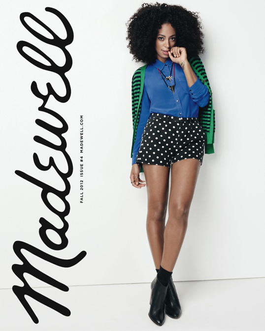 Solange Knowles' official pics for Madewell are here!