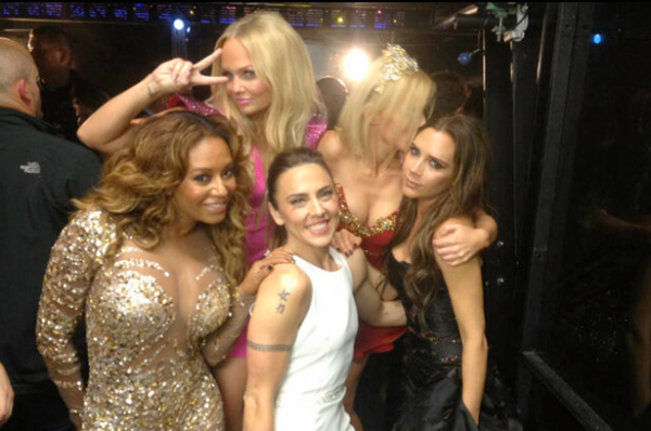 Top stories this week: The Spice Girls close the Olympics, Mary Katrantzou and Vodafone team up, and David Beckham undresses for H&M