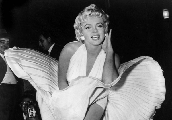 Marilyn Monroe's iconic white dress and other classic Hollywood costumes are coming to the V&A!