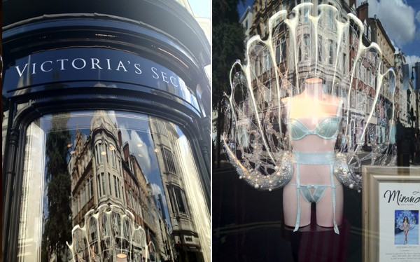 Victoria's Secret finally opens its doors on London's New Bond Street