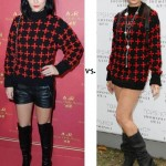Leigh Lezark vs. Daisy Lowe in Topshop Unique!