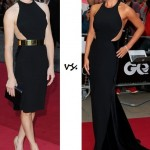 Victoria Pendleton vs. Katherine Jenkins in Stella McCartney