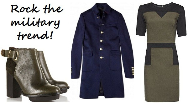 3 ways to wear the military look