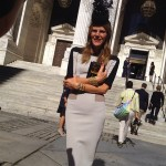 Anna Dello Russo steals the show in Victoria Beckham