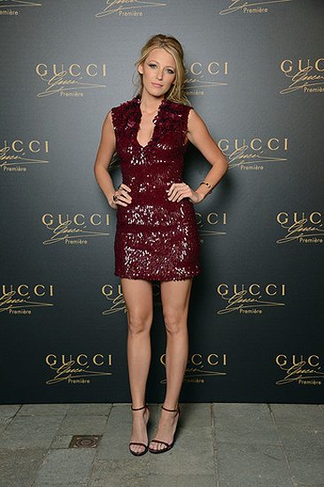 Blake Lively stuns in Gucci at the Venice Film Festival