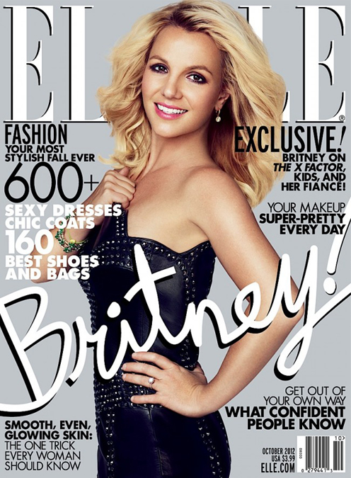 "Britney Spears fronts Elle US October, tells us why she could never ""be like Kim Kardashian"""