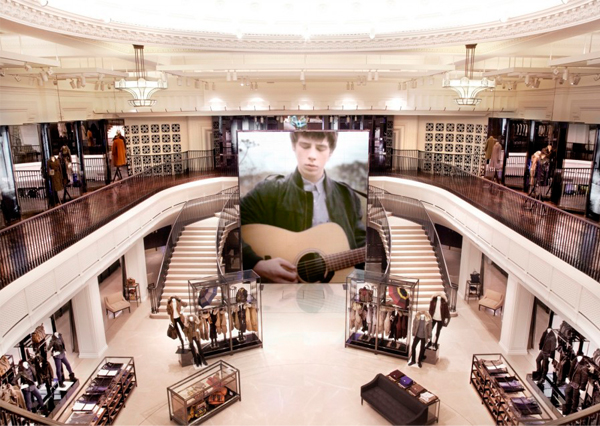 Burberry opens its biggest ever flagship store in Regent Street