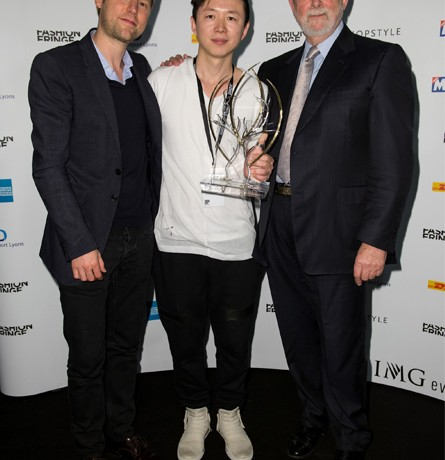 Haizhen Wang receives 2012 Fashion Fringe prize!