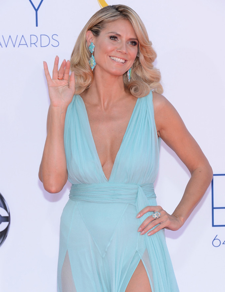 Heidi Klum is hosting the 2012 MTV EMAs!