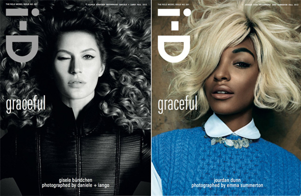 Gisele, Jourdan Dunn and 14 other girls covers i-D's 'Role Model' issue
