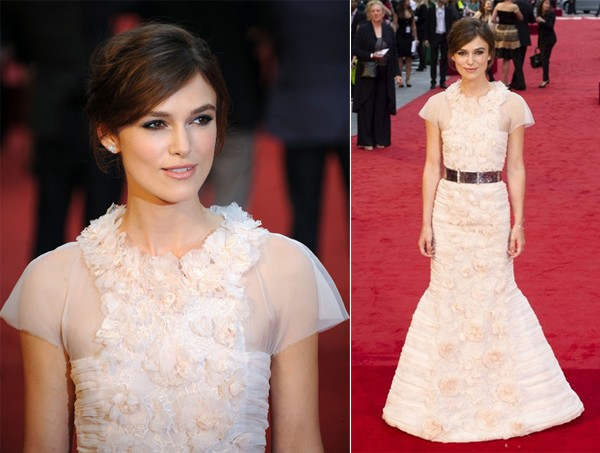 Keira Knightley dons Chanel Couture for Anna Karenina world premiere