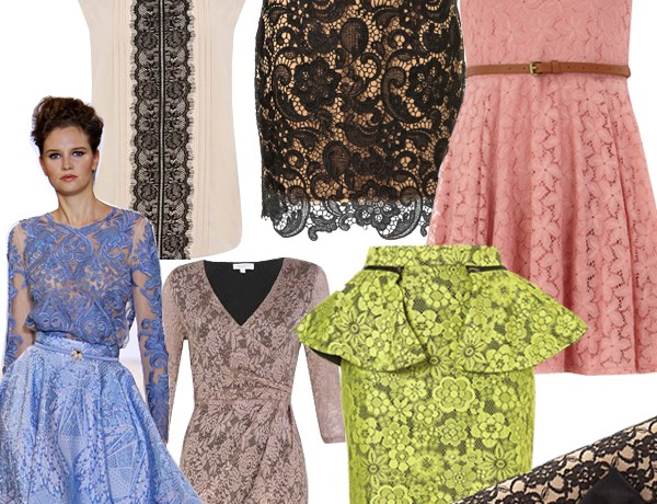 Midweek Moodboard: Temperley-inspired lace