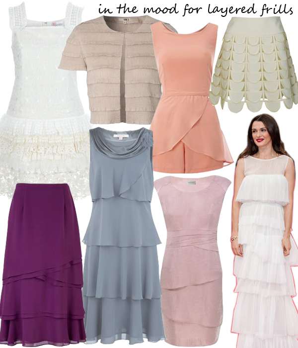 Midweek Moodboard: Layered frills