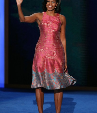 Michelle Obama's DNC Tracy Reese dress to hit shelves soon!