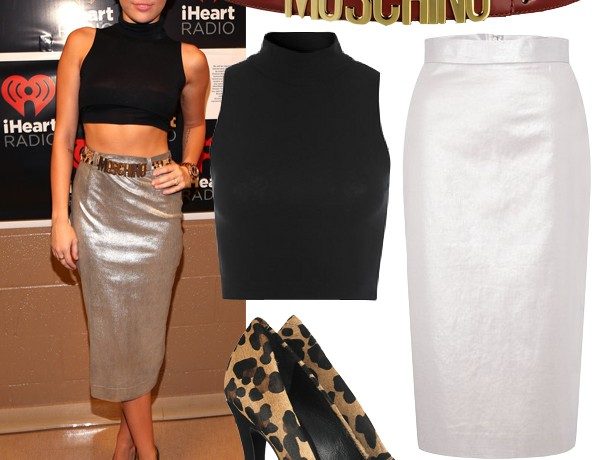 Get Miley Cyrus's I Heart Radio look