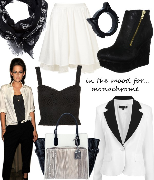 Midweek Moodboard: Mad for monochrome
