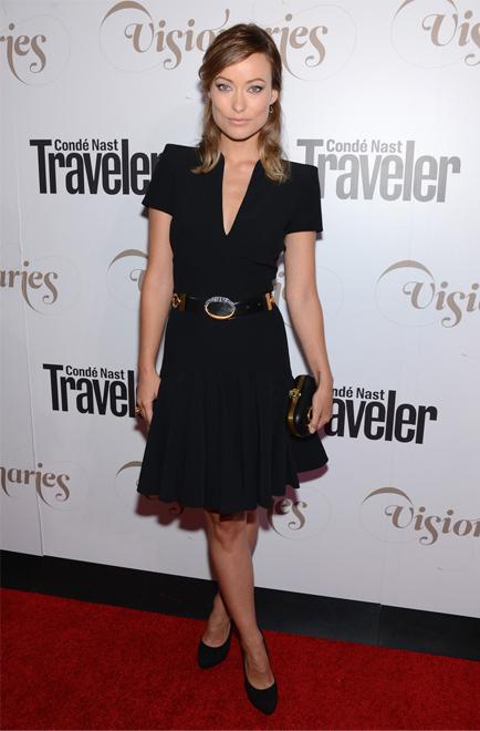 Olivia Wilde wows in Alexander McQueen
