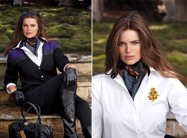 Meet Robyn Lawley, Ralph Lauren's first ever plus size model!