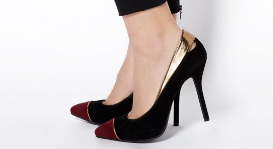 Shoe of the week: Stylist Pick Harlow Black Pointed toe cap courts