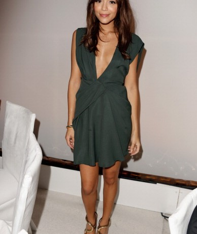 Ashley Madekwe looks effortlessly chic in J Mendel