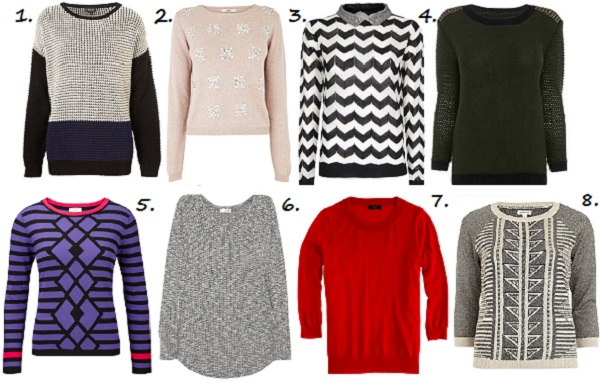 Our guide to the best knitwear budget buys!