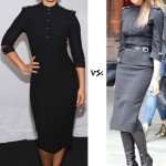 Victoria Beckham and Alicia Keys in Victoria Beckham Fall 2012
