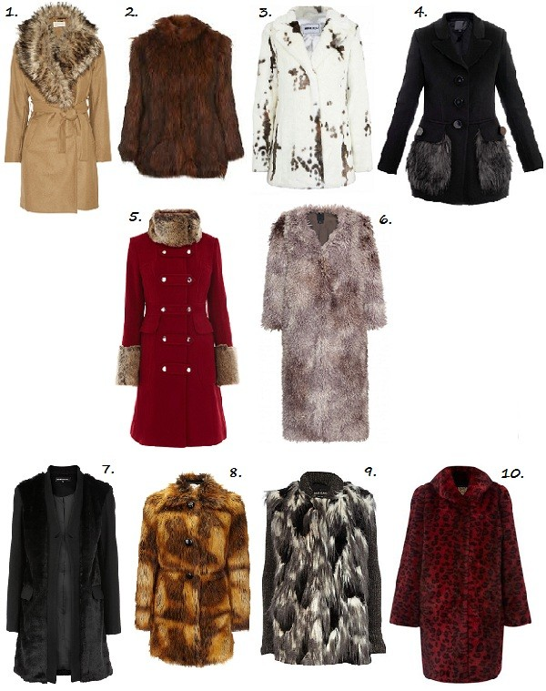 Top 10 Faux Fur Winter Coats