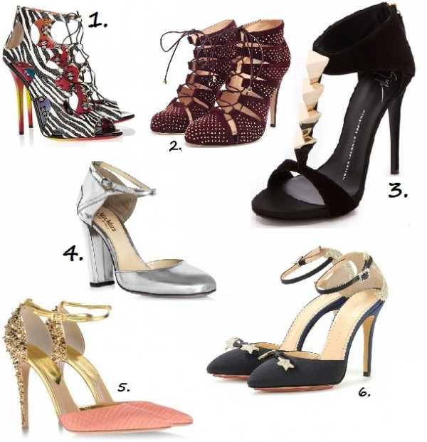 The Super 6 – High end heels we love right now!