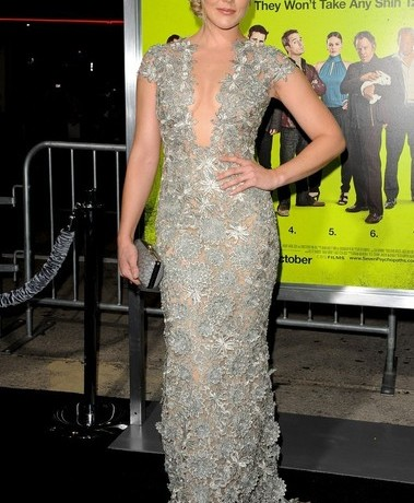 Abbie Cornish scoops Best Dressed of the Week in Reem Acra